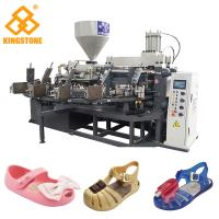 Best Crystal Shoes Slipper Making Machine , PVC kids Jelly Shoe sandal Injection Moulding Machine wholesale