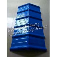 Best Plastic pvc corrugated wave roof tiles ridge tiles wholesale