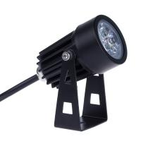 Best 3W exterior black waterproof 45degree IP65 led garden light for hotel park wholesale