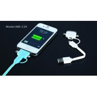 Best Colorful 1M IPhone 5 Apple Charger Cable 4 In 1 Micro USB Charger Data Cable wholesale