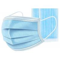 Best Non Woven Disposable Mouth Mask High Breathability For Personal Protective Use wholesale