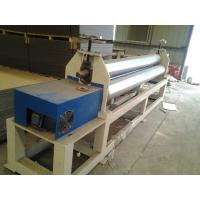 Cheap 120kw Plastic Auxiliary Equipment 3 Roller Rolling Plate Leveling Machine / Spiral Coil Winding Machine for sale