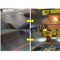 Best Decorative Perforated Sheet Metal Panels , Perforated Copper Sheets Corrosive Resistance wholesale