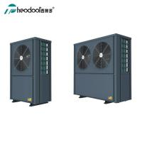 China Free Standing EVI Commercial Heat Pump / Domestic Hot Water And Floor Heat Pump Unit on sale