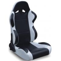 Best Black And Grey Racing Seats Fully Reclinable + Slider Universal 1 Pair Jbr 1004 Series wholesale