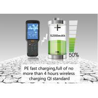 Best Waterproof Portable Barcode Scanner , Bluetooth Android Handheld Terminal Rugged PDA wholesale