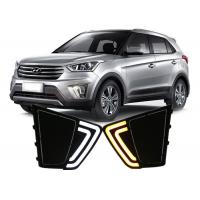 Best Hyundai 2014 2015 IX25 Creta Daytime Running Lights with LED Yellow Turn Signal wholesale