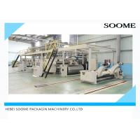 Best Pneumatic Control 3 Ply Corrugated Box Making Machine With Three Section Belt wholesale
