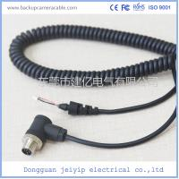 Best 5 Pin Black Color Backup Camera Cable Rear , View Camera Cable Waterproof wholesale