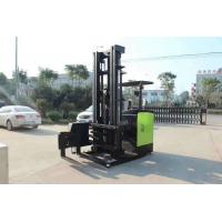 China Powered Reach Lift Forklift / Counterbalance Reach Truck Pu Solid Tire Custom Color on sale