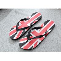 Best Camouflage Painted Patterns Fashion Flip Flops Mens Beach Slippers PVC Upper wholesale