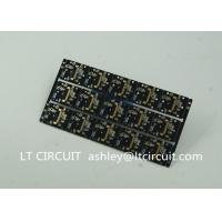Best Gold Plating Custom Pcb Manufacturing Black Soldering With IC Lead BGA wholesale