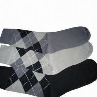 Best Men's Classic Combed Cotton Business Socks, Cool and Comfortable wholesale