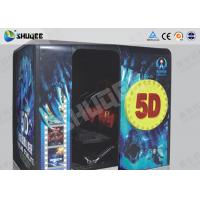 Best Electronic Red / Black 5D Movie Theater Kino With More Than 500 Pecice Films wholesale