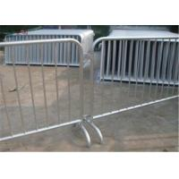 Best Traffic outdoor crowd control barriers 6 feet crowd safety barriers for road wholesale
