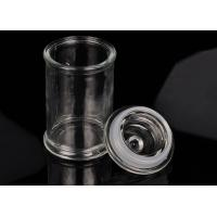 Best Eco Friendly Glass Jar Candle Holders Replacement Shock Resistant wholesale