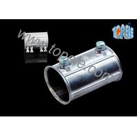 China Custom Electrical Conduit Fittings Zinc EMT Coupling Used Indoors And Outdoors on sale