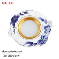 Best Good price and RA80 blue 12W China indoor LED down light in ceiling used wholesale