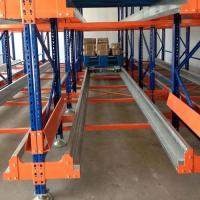 Best High Density Warehouse Shuttle Storage System Radio Shuttle Pallet Pack For Food Industry wholesale