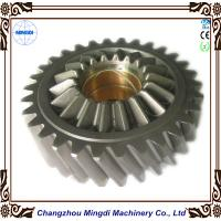 Quality Brass Metal 1 - 22M Steel Spur Gear Transmission Parts For Toyota Car , HRC45-62 wholesale