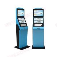 Best High quality customized functional lobby Self service dual screens kiosk with RFID card reader and coin hoppers wholesale
