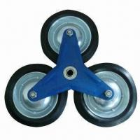 Best 6-/7-inch Solid Rubber Wheel with Ball Bearing, Suitable for Hand Trolley, Hand and Sack Truck wholesale