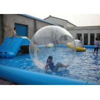 Best Outdoor Water Walking Ball , Walk On Water Bubble High Durability PVC / TPU wholesale
