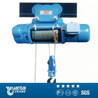 China Yuantai large capacity model cd1/md1 wire rope electric hoist on sale