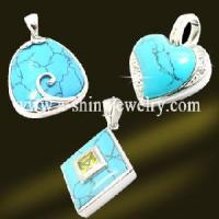 Best 925 Sterling Silver Crystal Fashion Pendant (PSK9005) wholesale