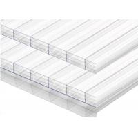 Best Transparent Multiwall Polycarbonate Sheet Four Layer Plastic Panels For Wall wholesale