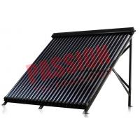 Best CE Approved U Pipe Vacuum Tube Solar Collector Rooftop Flat Roof Assembly wholesale