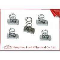 Best Stainless Steel Unistrut Channel Nut With Spring M4-M12 in Blue White , ISO9001 wholesale