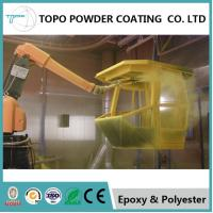 China Nontoxic Easy Coat Powder Coating, 3mm Flexibility RAL 1004 Alloy Wheel Coating on sale