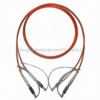 Buy cheap Optic Patch Cord with Low Insertion Loss, PVC/LSZH Jacket and User-friendly from wholesalers