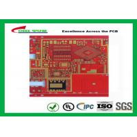 Best Multilayer Pcb Manufacturing Impandence Control Circuit Board Pcb Layout Red Colour wholesale