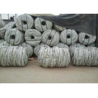 Best Hot Dip Galvanized Coiled Barbed Wire With Double Twist Q195 Iron Multicolors wholesale