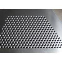 Best Hot Dipped Perforated Galvanised Sheet , Perforated Steel Plate For Stair Tread wholesale