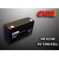 Best Maintenance Free Valve Regulated Lead Acid Battery 6v 13AH , HR653W Power Supply Battery wholesale