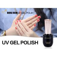 Cheap Customized Capacity Easy Off Gel Polish , Red Gel Nail Polish For Nail Salon for sale