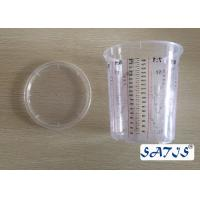 Cheap Disposable Mixing Cups With 1100ml Plastic cup OEM accepted print on body for sale