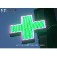 Best PH12MM Outdoor Led Pharmacy Sign High Resolution For Shops 7500nit Brightness wholesale