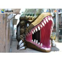 Best Dinosaur Movie Theater Equipment With Red Comfortable Chairs wholesale
