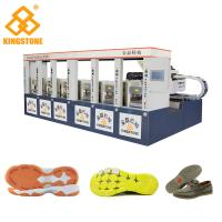 Best CE SGS 6 Stations Rubber Shoe Sole Making Machine 1-2 Color 2 Years Gurantee wholesale