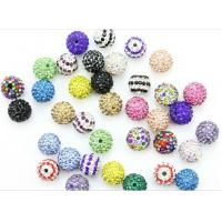 Best Customized 14mm Rhinestone Crystal Pave Ball Beads Jewellery Making wholesale