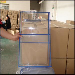 Transparent pvc ticket/file holder without zip, PVC file bag, plastic document bags A4 paper