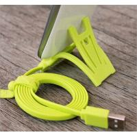 Best 1M TPE Data Flat Micro USB Cable , IPORS USB Charging Cables With Stand wholesale