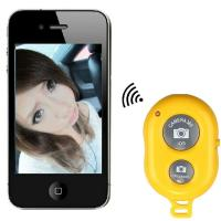 Cheap Mini Bluetooth Wireless Remote Control Camera Shutter Release Self Timer for for sale
