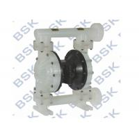 Cheap Polypropylene Plastic Diaphragm Pump Air Operated For Printing / Dyeing for sale