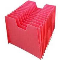 China Waterproof Corrugated Plastic Divider Sheets PP Hollow Layer Pad 4mm 5mm 6mm on sale