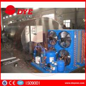 Best Customized Horizontal Milk Chilly Tank Milk Cooling Tank 5000L Capacity wholesale